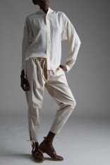 Vintage Drawstring Trousers